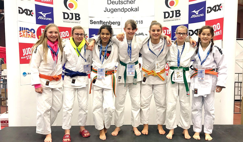 Judobulls beim Deutschen Jugendpokal
