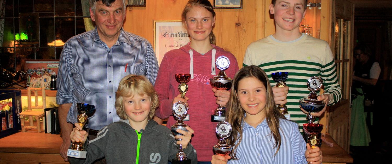 Skisparte Schülerlauf 2018 Siegerehrung