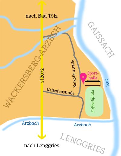 Anfahrt Kalkofenstr. 16
