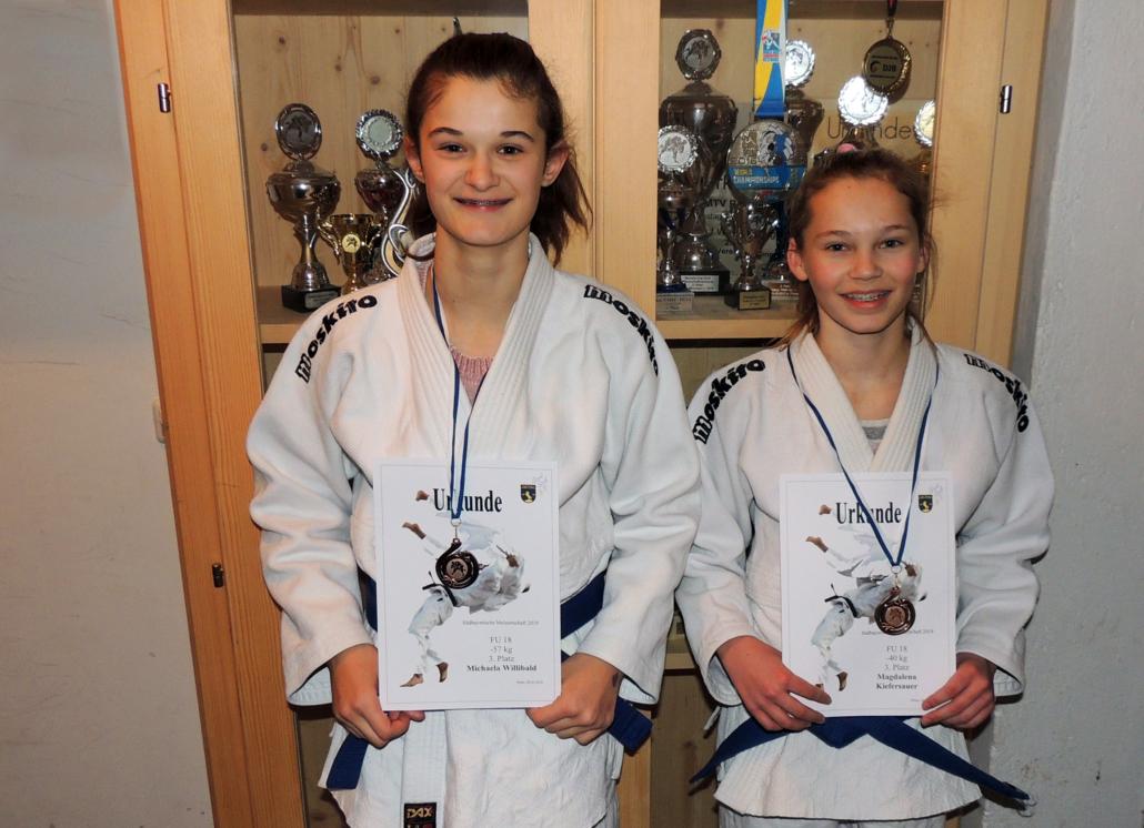 Michaela Willibald und Magdalena Kiefersauer
