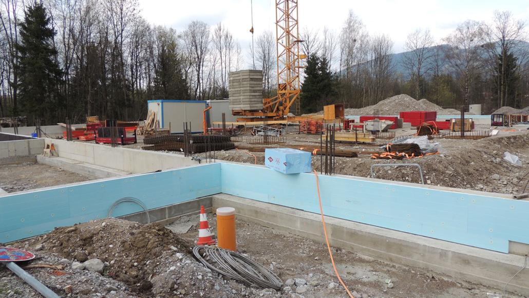 Baufortschritt April 2019