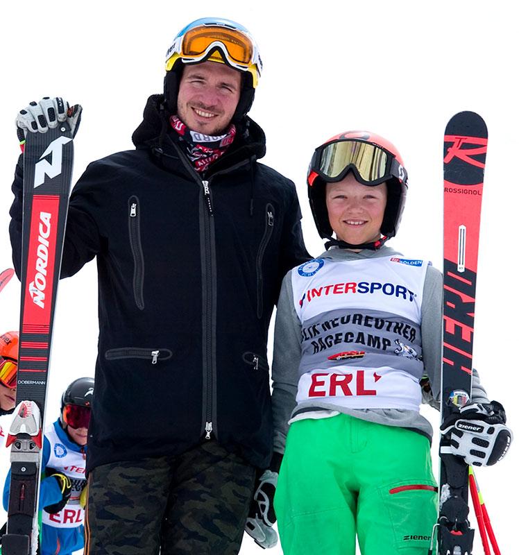 Quirin Lechner und Felix Neureuther