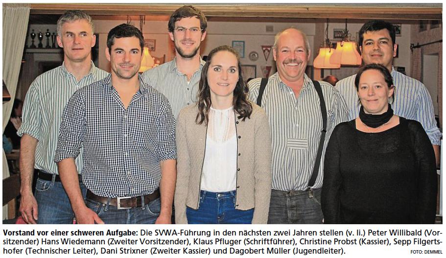 Vorstand SV Wackersberg-Arzbach
